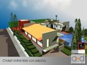 Chalet Unifamiliar y Piscina en Torrente.
