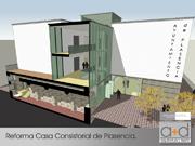Reforma casa consistorial Plasencia