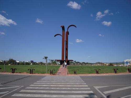 Rotonda acceso Massamagrell